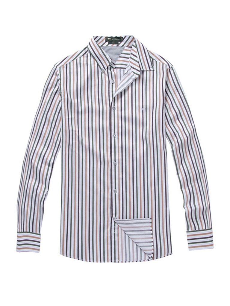 皮肤的相衬,来选择您要的条纹商务衬衫,如想要搭配西装领带的话,选择